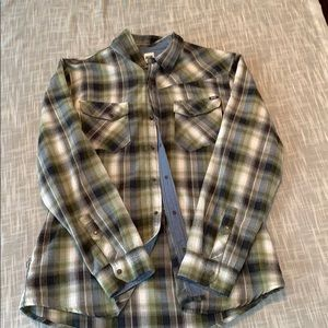 Volcom long sleeve flannel